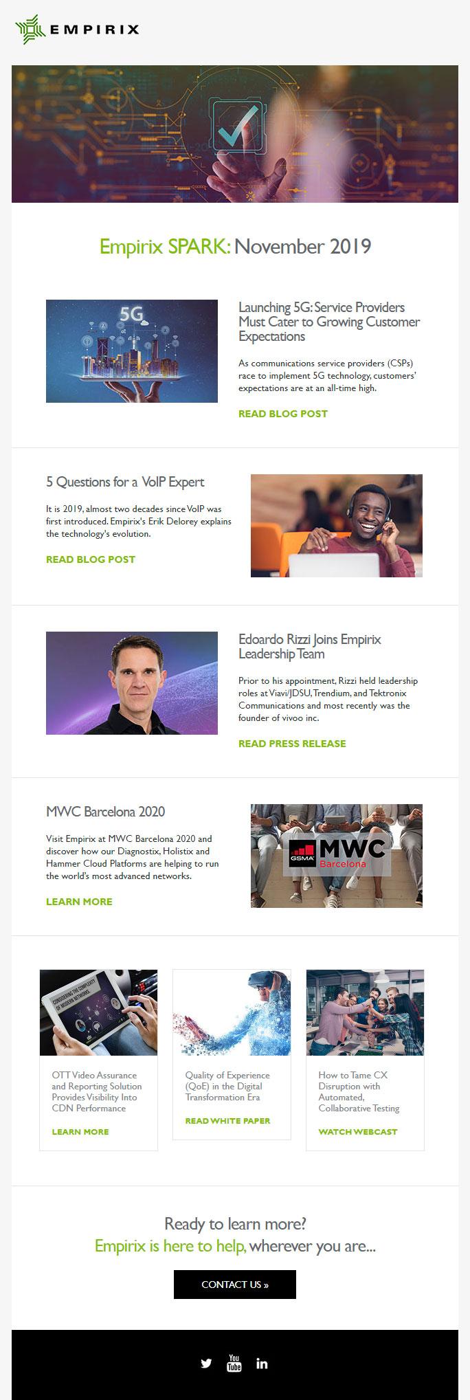 Empirix Newsletter