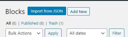 Import JSON