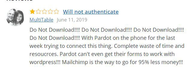 Pardot plugin review