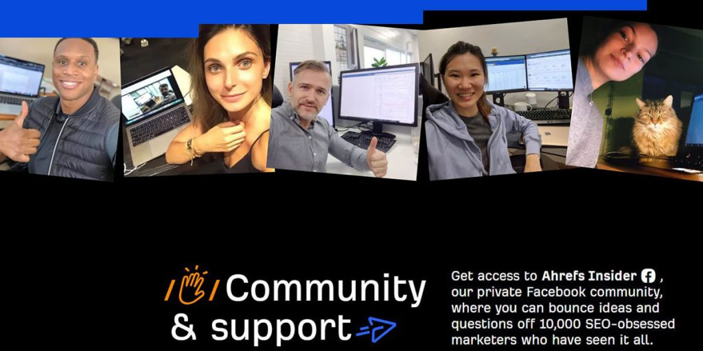 Ahrefs Community & Support